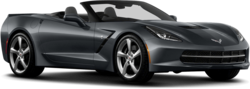 Corvette Chevrolet Black Sports Car