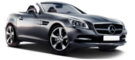 Mercedes-Benz SLK Silver Exotic Car Rental